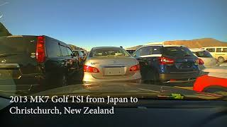Car import from Japan to Christchurch New Zealand