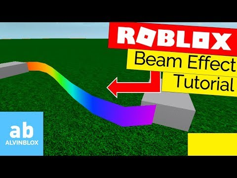 Roblox Studio Beam Effect Roblox Beam Tutorial How To Use The Beam Effect In Roblox Youtube