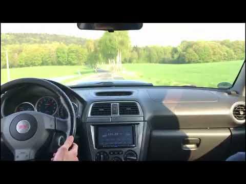Subaru Impreza WRX STI 2004 Acceleration Onboard View