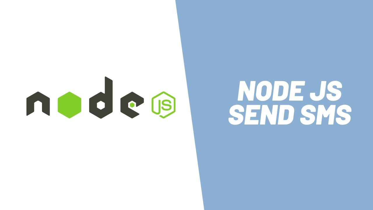 How to Send SMS using Node JS