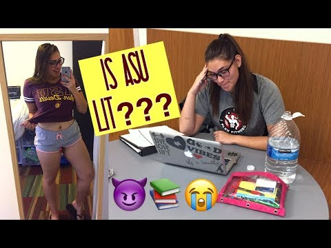 Day In The Life of a College Student // Arizona State University