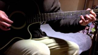 Repeat youtube video Fairy Tail ED 14 - We're the stars guitar cover (solo)
