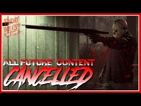 All Future Content Cancelled | Uber Jason, Grendel, Everything | Friday the 13th: The Game