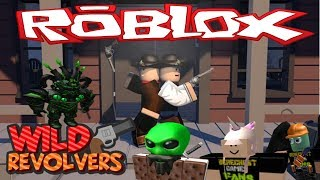 SPOOKY SHOOTERS | WILD REVOLVERS | ROBLOX
