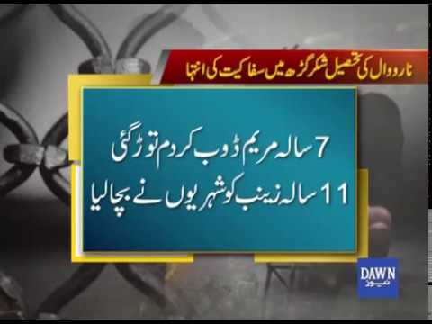 Children Thrown in Gutter Line by their father in Narowal