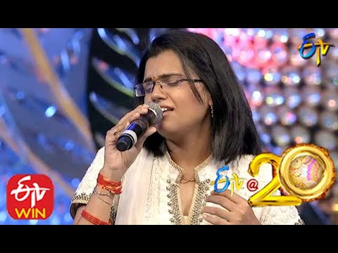 SP Balu and pranavi Performs - Anjali Anjali Song in ETV @ 20 Years Celebrations - 16th August 2015