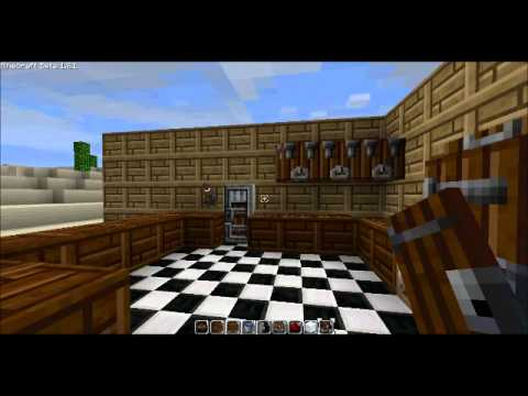 Awesome Kitchen Design   Minecraft Part 66