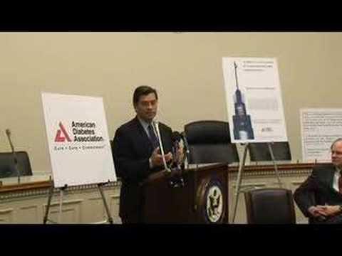 Congressman Becerra Remarks at Congressional Diabtes Caucus