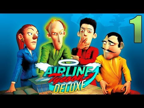 Airline Tycoon || Free Game #1 (Falcon Lines)