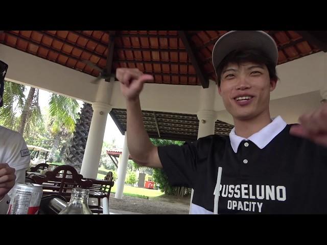 タイの超有名ゴルフ場のランチで絶品フォーを食べる