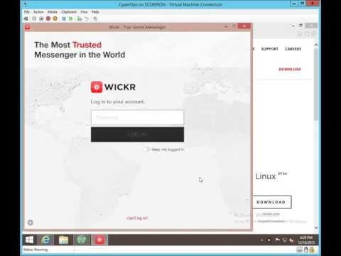 Quora Gaffer: Wickr : A secured messaging app that you all