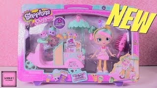 Peppa Mint Gelati Scooter Shopkins Shoppies Doll Season 8 Playset Review | ShannonsDollChannel