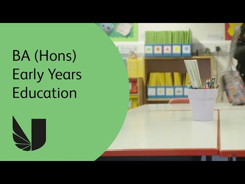 BA (Hons) Early Years Education at the University of West London