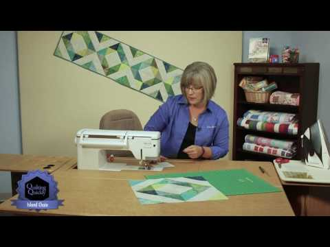 Quilting Quickly - Easy Island Chain Table Runner
