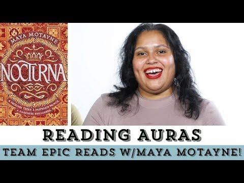 Team Epic Reads Got Their Auras Read With Maya Motayne!