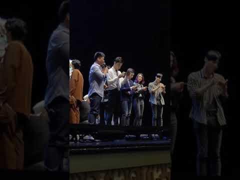 郑云龙 音乐剧 《信》 20190420  云峰剧场 午场谢幕片段