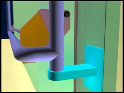 Распашные двери для холодильных камер ИнТех