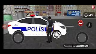 Polis Arabası Oyunu, Direksiyonlu Polis Araba Oyunları, Araba Oyunları Izle