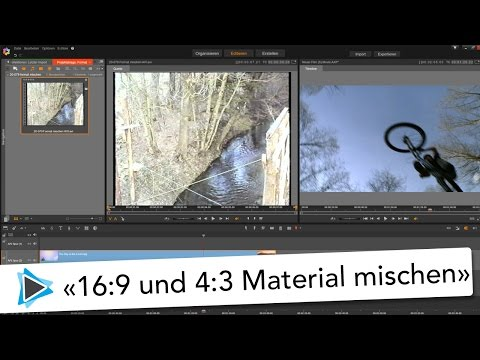 High Definition und Standart Definition mischen in Pinnacle Studio 20 Deutsch Video Tutorial