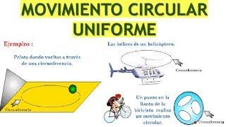 Movimiento Circular Uniforme MCU Ejercicios Resueltos Nivel ...