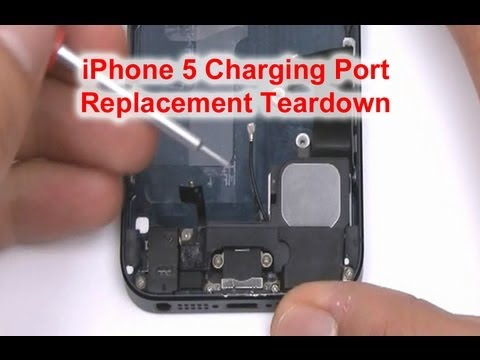 iphone 5 charger port repair how to fix iphone 5 charger port 4554