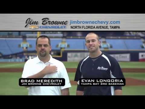 Jim Browne Chevrolet - Chevy Bonus Tag Event featuring Evan Longoria