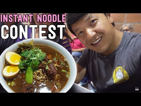 INSTANT NOODLE Competition in San Diego California