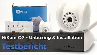 HiKam Q7 - Teil 1 - Unboxing, Installation und die Android App