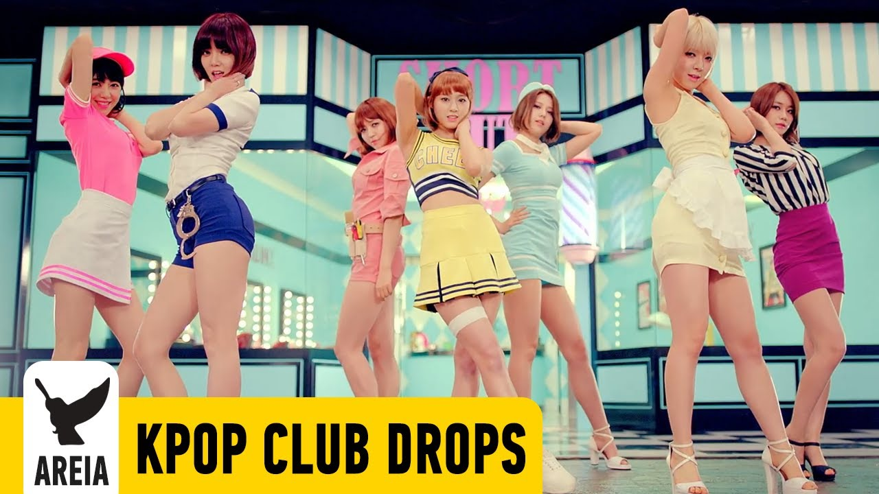 KPOP Sexy Girl Club Drops Sep 2014 (AOA 2NE1 F(x) Kara Ailee) Trance Electro House Trap Korea