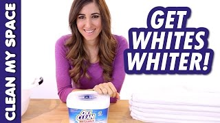 Whiten Whites with OxiClean! Thumbnail