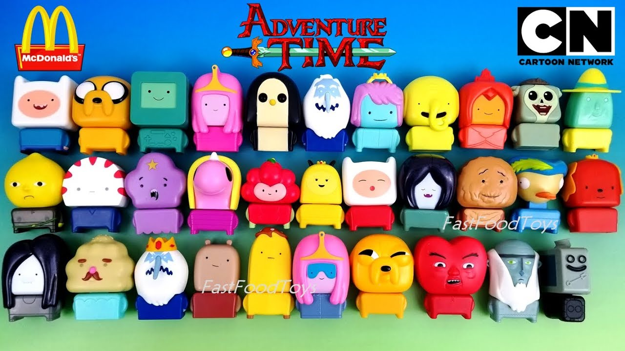 2017 Mcdonald S Adventure Time Happy Meal Toys Vs 2016