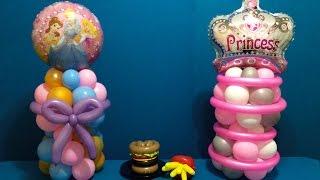 Princess Balloon Columns! Party Decorations