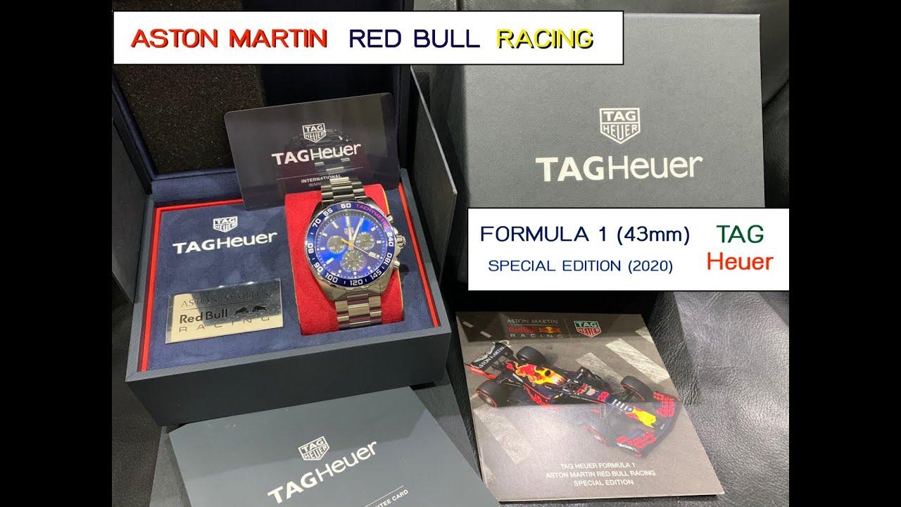 Unbox แกะกล่อง นาฬิกา Tag Heuer รุ่นพิเศษ ปี 2020  Aston Martin Red Bull Racing