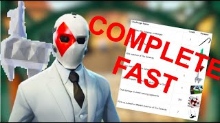 How to Complete the NEW High Stakes Getaway Challenges V2 FAST in Fortnite Season 8 | Complete Guide
