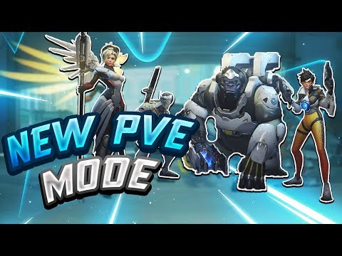 New Storm Rising PvE Mode w/ XQC, Heyo & m0xy - Seagull - Overwatch