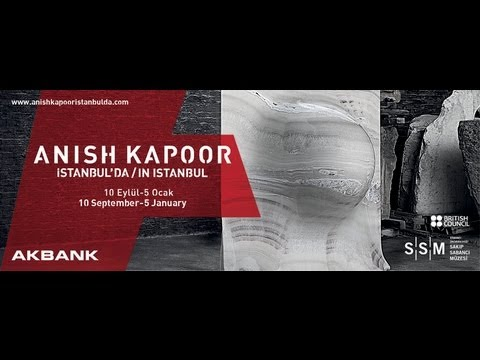 """""""Anish Kapoor İstanbul'da"""" Sergisi Basın Toplantısı / 9 Eylül 2013"""