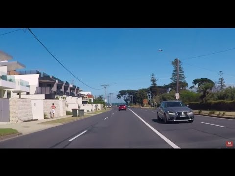 Melbourne Drive from Brighton To Dromana 2018