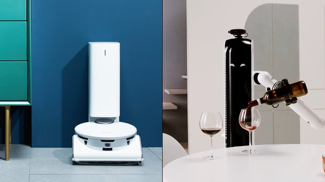 Meet Handy and Care: Samsung's actual new robot butlers