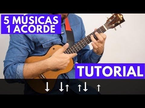 5 músicas com 1 acorde no Ukulele (Tutorial) thumbnail
