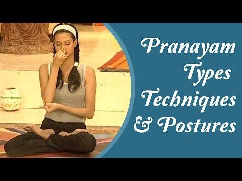 15 Types of Pranayam - Simple & Easy To Done Yoga Asanas At Home | Hindi Yoga Tutorial