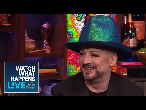 Boy George And George Michael's Feud | WWHL