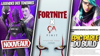 """Skins Secrets, Fortnite x """"Ça"""", Pack Legends des Ténèbres & Autre sur FORTNITE ! (Saison 10 News)"""