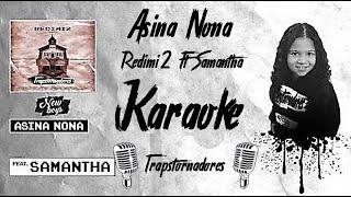 KARAOKE - Asina Nona - Redimi2 ft Samantha - Sound Beats Instrumental - Pista