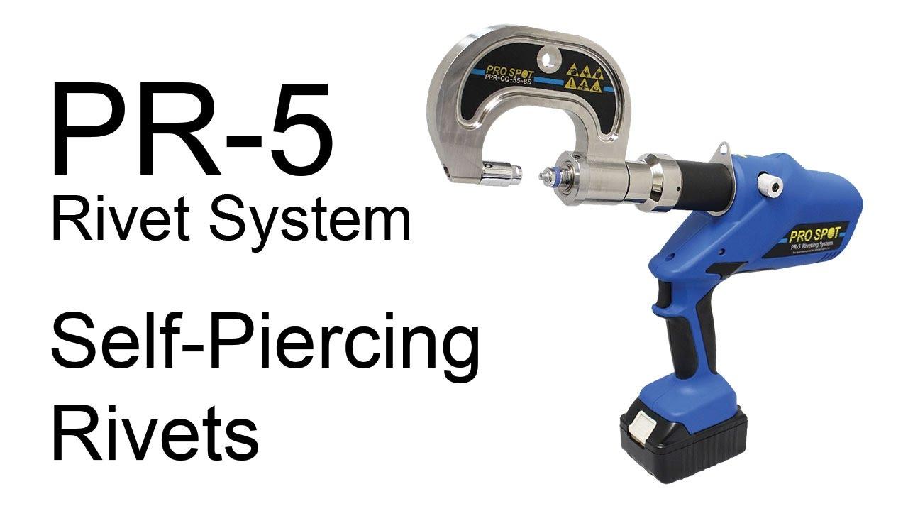 Installing a Self-Piercing Rivet on the Pro Spot PR-5 Rivet Gun