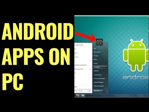 HOW TO INSTALL SHOWBOX ON WINDOWS 10 & INSTALL ANDROID APPS ON PC * INSTALL ANDROID APK ON PC & MAC