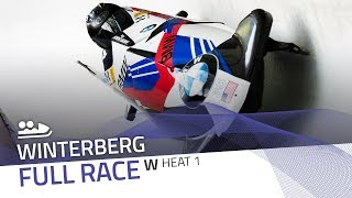 Winterberg | BMW IBSF World Cup 2019/2020 - Women's Bobsleigh Heat 1 | IBSF Official
