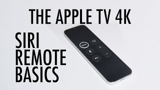 2020 Apple TV 4K Remote Operation