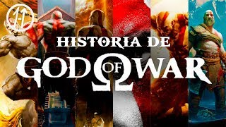 GOD OF WAR CRONOLOGÍA COMPLETA! la HISTORIA de KRATOS
