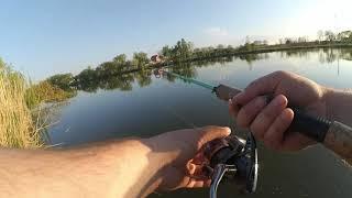 Рыбалка на судака весной Прогулка по степной реке краснодарского края Поиск судака в апреле