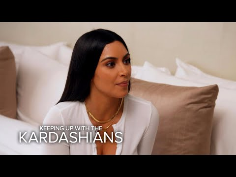 "KUWTK | Kim Kardashian West ""Can't Trust Anyone"" After Paris Robbery 